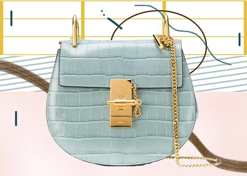 Los mejores bolsos Chloé de todos los tiempos: Mini bolso de hombro Chloé Drew