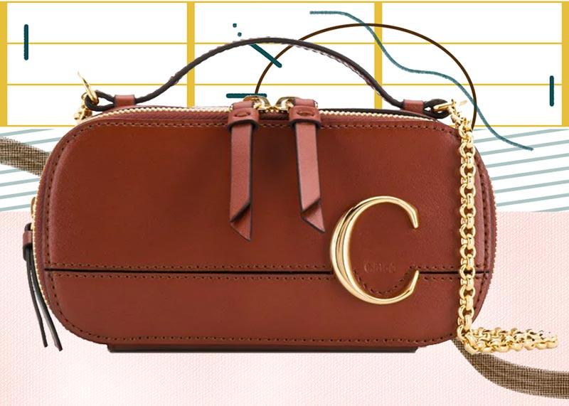 Los mejores bolsos Chloé de todos los tiempos: Mini neceser Chloé C