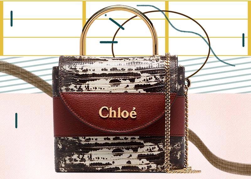 Los mejores bolsos Chloé de todos los tiempos: bolso pequeño Aby Lock de Chloé