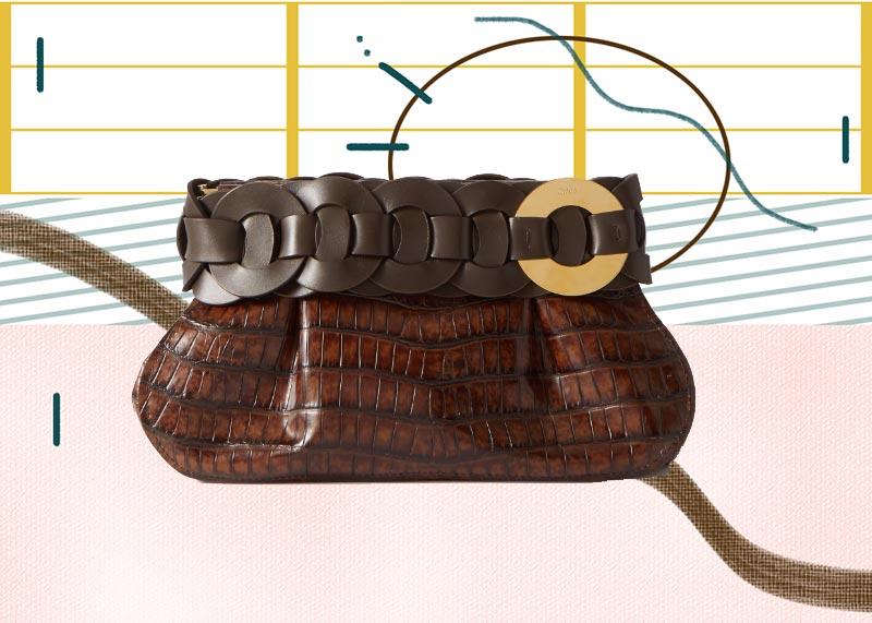 Los mejores bolsos Chloé de todos los tiempos: Clutch Darryl de Chloé