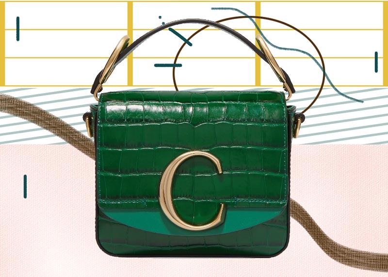 Los mejores bolsos Chloé de todos los tiempos: Mini bolso Chloé C