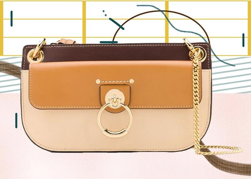 Los mejores bolsos Chloé de todos los tiempos: bolso pequeño con bandolera Chloé Tess