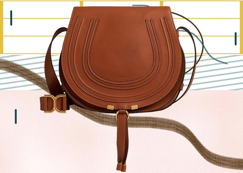 Las mejores bolsas de Chloé de todos los tiempos: bolsa de sillín Chloé Marcie