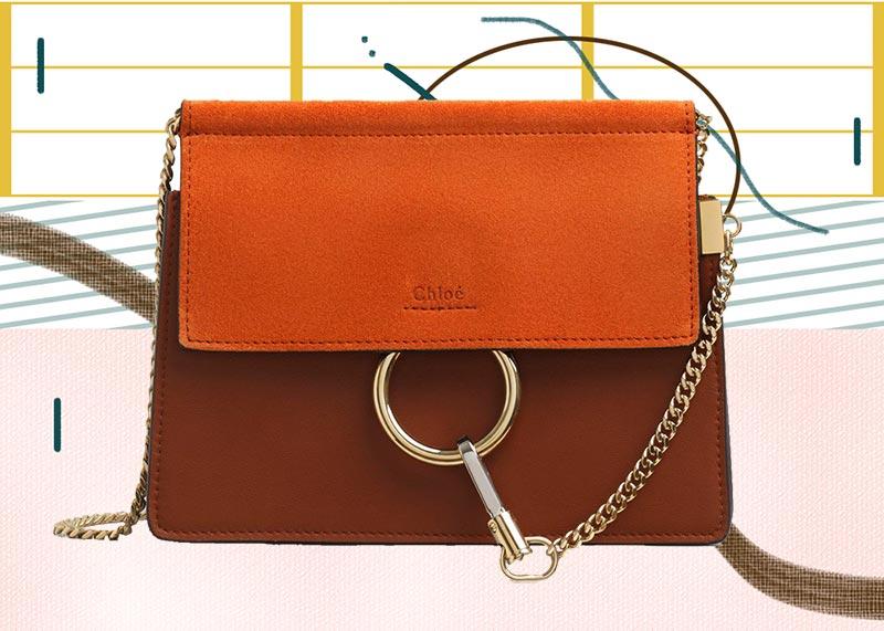 Los mejores bolsos Chloé de todos los tiempos: Mini bolso con cadena Chloé Faye