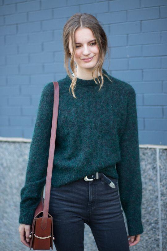 Resultado de imagen para estilos de suéter mujer