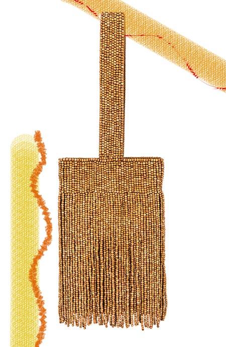 Los mejores bolsos Cult Gaia: Cult Gaia Farah Wristlet