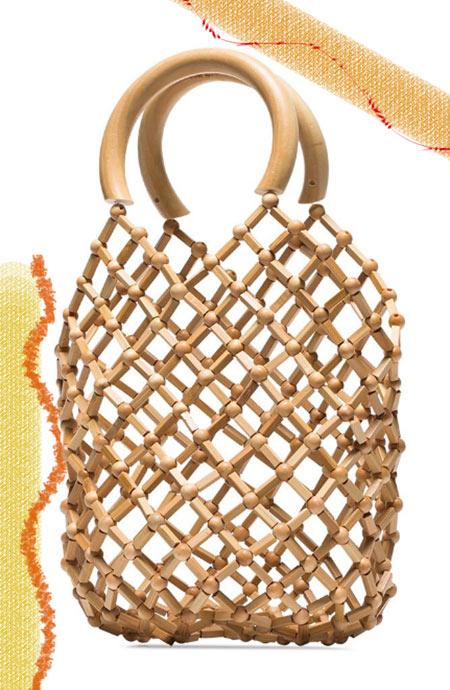 Los mejores bolsos Cult Gaia: Cult Gaia Emmi Bamboo Tote