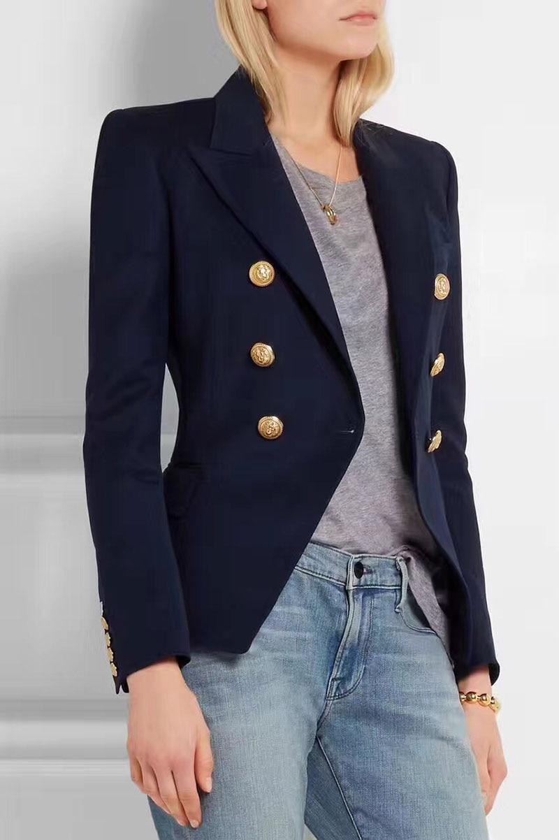 Resultado de imagen para blazers cruzados de mujer