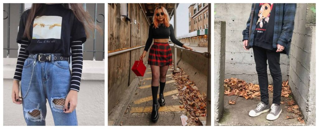 La moda grunge es una foto anti-estilo