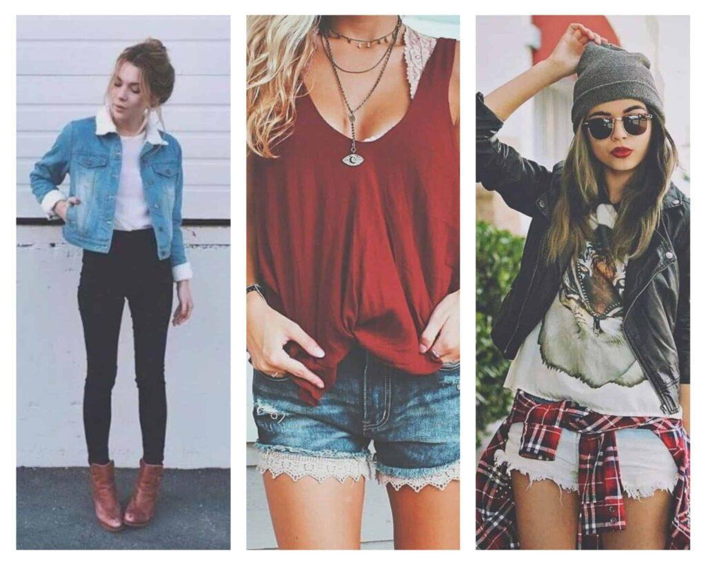 ideas de atuendo hipster para foto de mujer