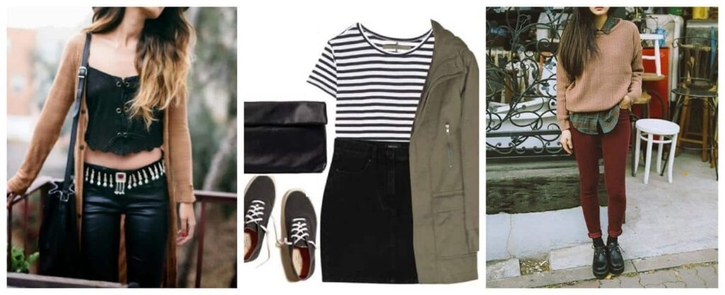 hipster ropa mujer foto